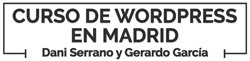 Cursos WordPress Madrid